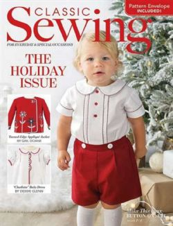 Classic Sewing Magazine Holiday 2020