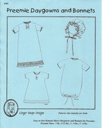 Preemie Daygowns & Bonnets