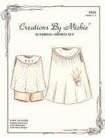 #121 Sundress & Shorts Set