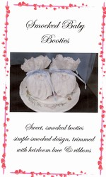 Smocked Baby Booties