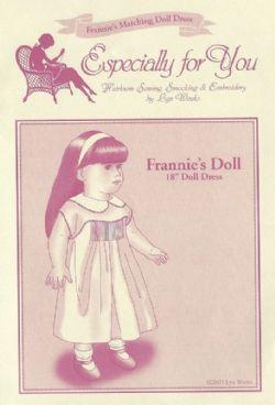 Frannie Doll Pattern