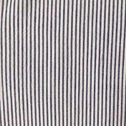 Seersucker Mini Stripe-Navy