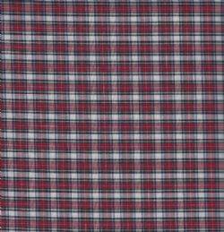 Pima Mini Tartan-Red