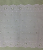 Swiss Cotton Table Runner