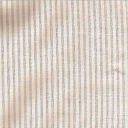 Swiss Voile Stripe-White