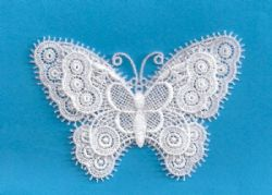 Swiss Butterfly Applique