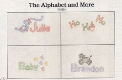 The Alphabet and More