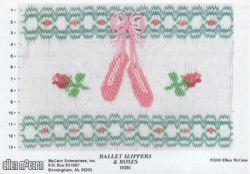 Ballet Slippers & Roses
