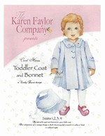 Toddler Coat & Bonnet