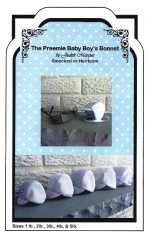 The Preemie Baby boy's Bonnet