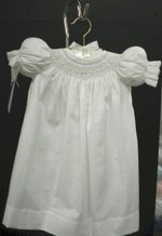 White Bishop Baby Daygown Kit