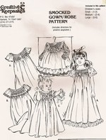 Child's Smocked Gown and Robe