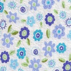 Seersucker-Sassy Blue Print