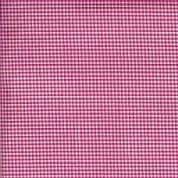 Pima Gingham Check Raspberry Pink
