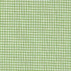 Pima Gingham Check Lime Green