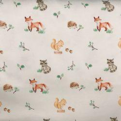 Sea Island Knit Prints-Forest Friends